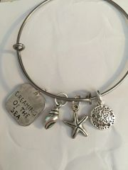 Dreaming By the Sea Bangle