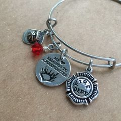 Fire Fighter Bangle