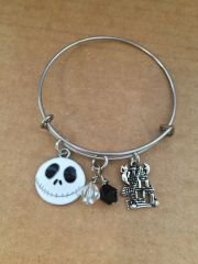 Nightmare Before Christmas- Halloween Bangle