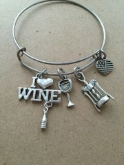 Wine Lovers Bangles - 4 styles