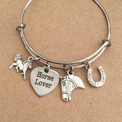 Horse Lover Bangle