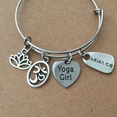 Yoga Girl Bangle