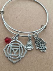 1st Chakra The Root (Muladhara) Bangle