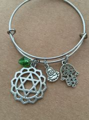 4th Chakra The Heart (Anahata) Bangle
