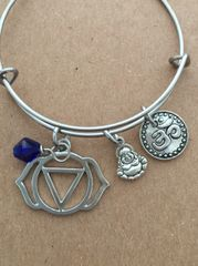 6th Chakra The Third Eye (Anja) Bangle