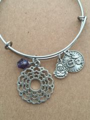 7th Chakra The Crown (Sahasrara) Bangle