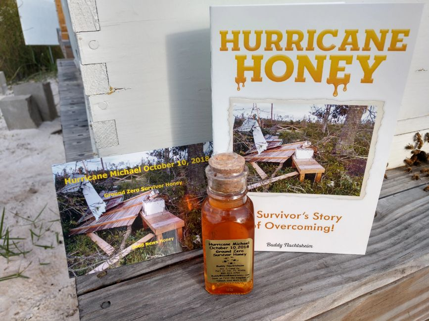 hurricane honey, tupelo honey, promise land honey, good news honey