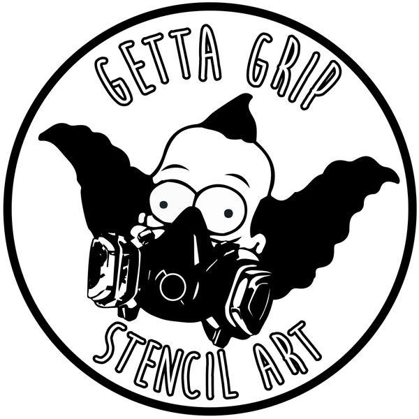 Krusty Sticker