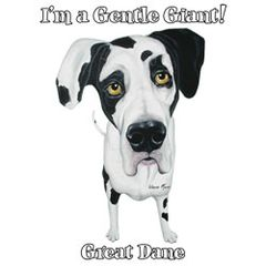 I'm a Gentle Giant - Great Dane - T-shirt