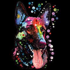 German Shepherd - Neon - Sweatshirt
