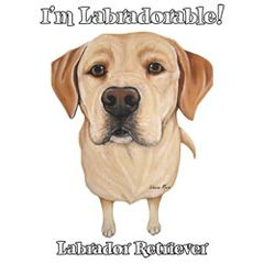 I'm Labradorable - Yellow Labrador - Sweatshirt