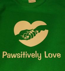 Pawsitively Love T-Shirt -