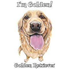 I'm Golden - Golden Retriever - T-shirt