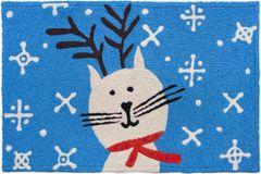 Reindeer Cat Jellybean Rug