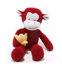 Monkey Woolie Squeak Dog Toy LARGE