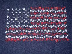 American Flag Ladies T-shirt