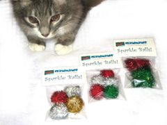 Sparkle Ball Cat Toys