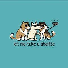 Let Me Take a Sheltie (Lightweight Unisex XL only)
