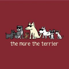 The More the Terrier (Ladies L only)