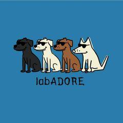 LabADORE (Ladies V-neck)