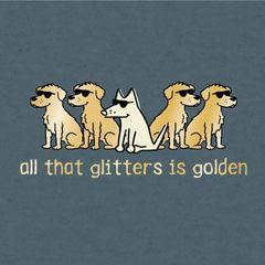 All That Glitters is Golden (Lightweight Unisex)