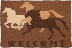 Welcome Horses Jellybean Rug