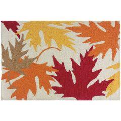 Autumn Leaves Jellybean Rug