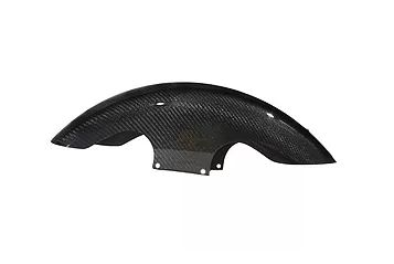 "2014 & Later 21"" Shorty Wrapped Carbon Fiber Front Fender"