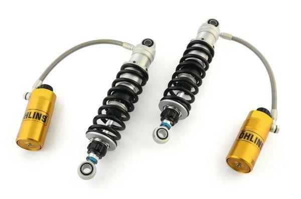 """Hi-Performance Bagger Shocks - 13.2"""" Remote Reservoir Fully Adjustable"""