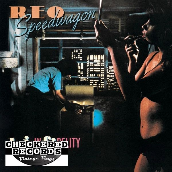 REO Speedwagon Hi Infidelity First Year Pressing 1980 US Epic ‎FE 36844 Vintage Vinyl Record Album