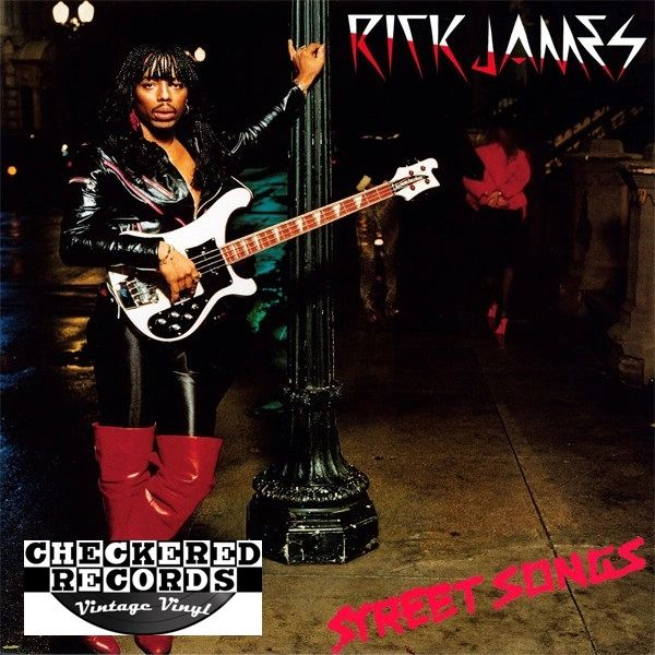 Rick James Street Songs First Year Pressing 1981 US Gordy G8-1002M1 Vintage Vinyl Record Album