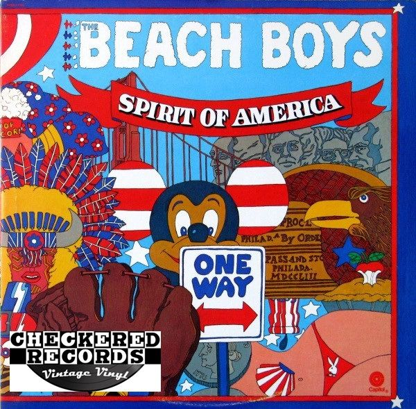 The Beach Boys ‎Spirit Of America First Year Pressing 1975 US Capitol Records SVBB-11384 Vintage Vinyl Record Album
