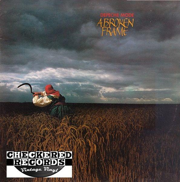 Depeche Mode A Broken Frame First Year Pressing 1982 US Sire 1-23751 Vintage Vinyl Record Album