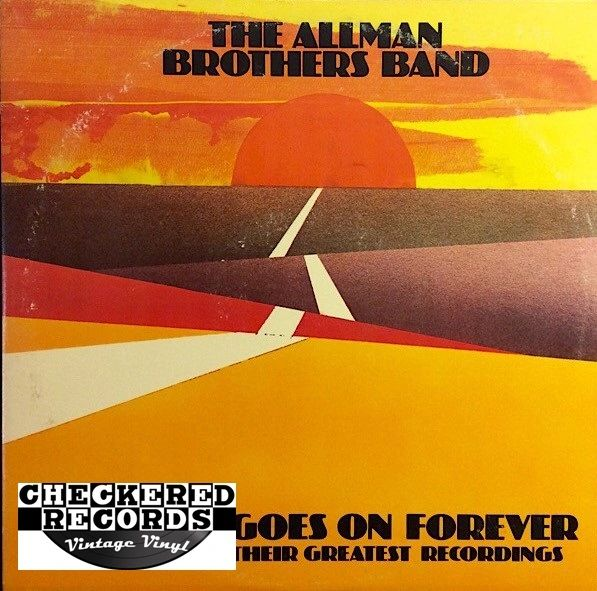 The Allman Brothers Band ‎The Road Goes On Forever First Year Pressing 1975 US Capricorn Records 2CP 0164 Vintage Vinyl Record Album