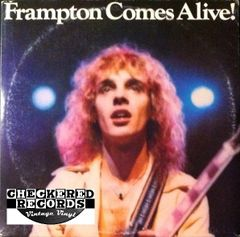 Peter Frampton Frampton Comes Alive First Year Pressing 1976 US A&M SP-3703 Vintage Vinyl Record Album