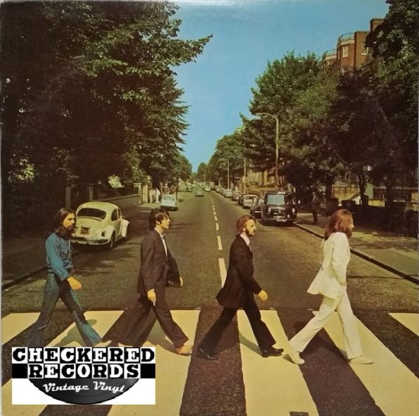The Beatles Abbey Road First Year Pressing 1969 US Apple Records SO-383 Vintage Vinyl Record Album