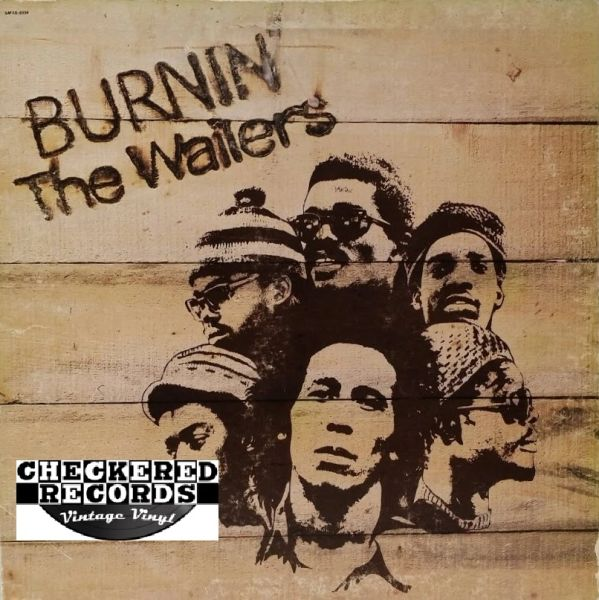 Bob Marley And The Wailers The Wailers ‎Burnin' First Year Pressing 1973 US Island Records SMAS-9338 Vintage Vinyl Record Album
