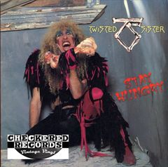 Twisted Sister Stay Hungry First Year Pressing 1984 US Atlantic ‎80156-1 Vintage Vinyl Record Album
