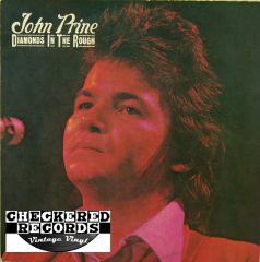 John Prine Diamonds In The Rough First Year Pressing 1972 US Atlantic SD 7240 Vintage Vinyl Record Album