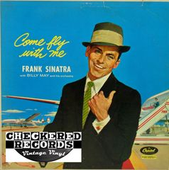 Frank Sinatra ‎Come Fly With Me MONO First Year Pressing 1958 US Capitol Records W920 Vintage Vinyl Record Album