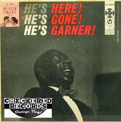 Erroll Garner ‎He's Here! He's Gone! He's Garner! First Year Pressing 1956 US Columbia ‎CL 2606 Vintage Vinyl Record Album