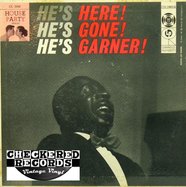Erroll Garner He's Here! He's Gone! He's Garner! First Year Pressing 1956 US Columbia CL 2606 Vintage Vinyl Record Album