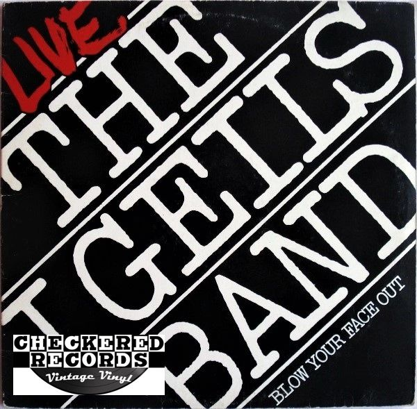 The J. Geils Band ‎Live - Blow Your Face Out First Year Pressing 1976 US Atlantic ‎SD 2-507 Vintage Vinyl Record Album