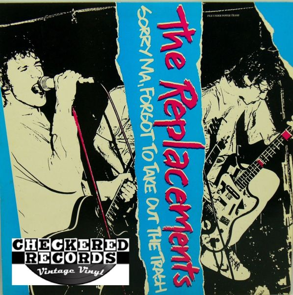 The Replacements ‎Sorry Ma, Forgot To Take Out The Trash 1981/1982 US Twin/Tone Records TTR 8123 Vintage Vinyl Record Album