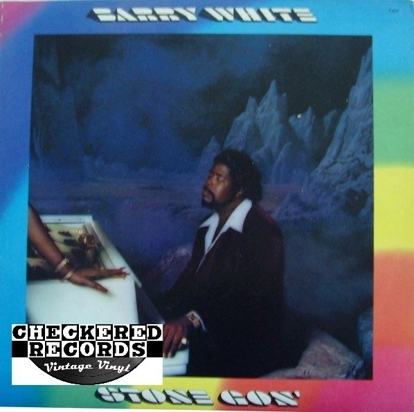 Vintage Barry White Stone Gon' First Year Pressing 1973 US 20th Century RecordsT-423 Vintage Vinyl LP Record Album