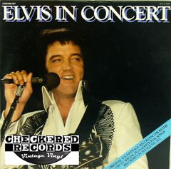 Elvis Presley ‎Elvis In Concert First Year Pressing 1977 US RCA ‎APL2-2587 Vintage Vinyl Record Album