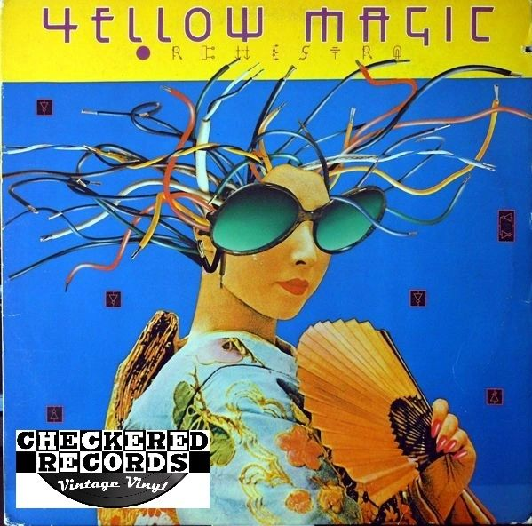 Vintage Yellow Magic Orchestra Yellow Magic Orchestra Self-Titled First Year Pressing 1979 US Horizon Records SP-736 Vintage Vinyl LP Record Album
