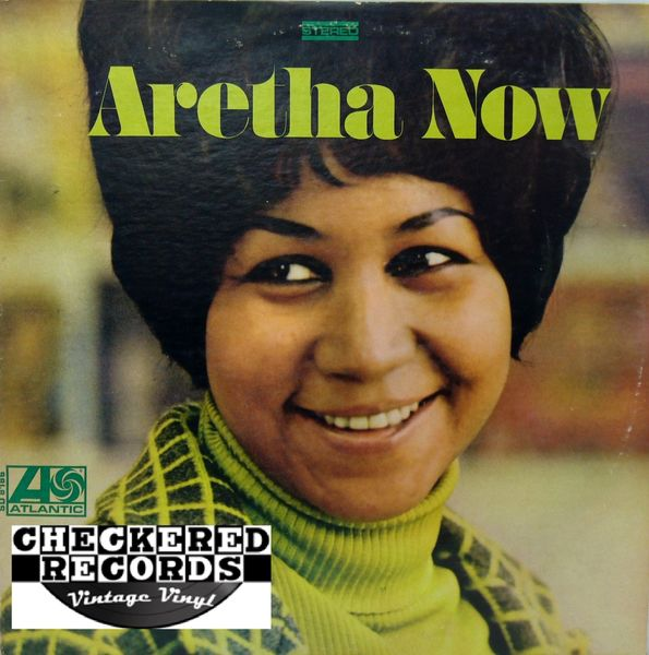 Aretha Franklin ‎Aretha Now First Year Pressing 1968 US Atlantic SD 8186 Vintage Vinyl Record Album