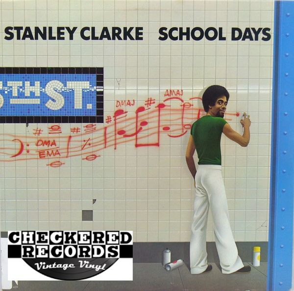 Stanley Clarke School Days First Year Pressing 1976 US Nemperor Records NE 900 Vintage Vinyl Record Album