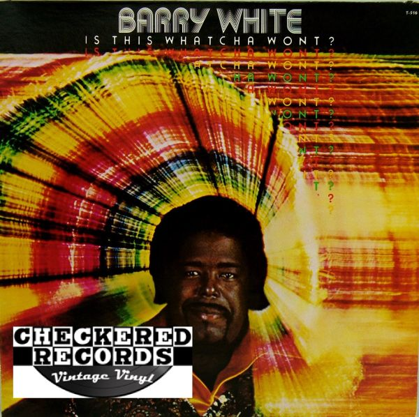 Barry White Is This Whatcha Wont? First Year Pressing 1976 US 20th Century Records T-516 1976 Vintage Vinyl Record Album